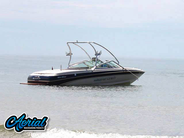 Aerial Airborne Tower on a 1999 MasterCraft MariStar 210 boat