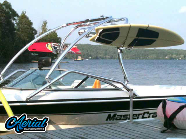 Airborne Tower Wakeboard Installed on Mastercraft prostar 190 Boat
