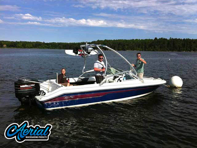 1995 SEA RAY SKI RAY 190 Wakeboard Tower, speakers, racks, bimini