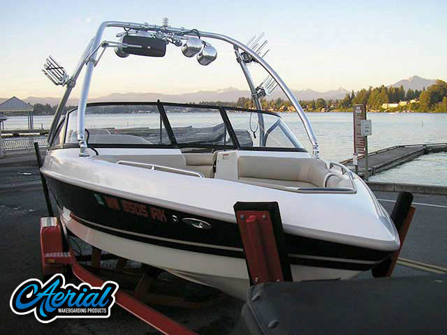 1999 Tige 2100V Limited Wakeboard Tower, speakers, racks, bimini