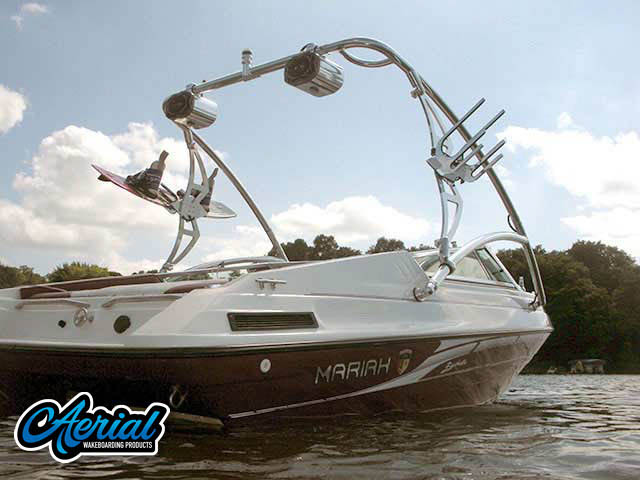 1995 Mariah Barchetta 182 Wakeboard Tower, speakers, racks, bimini
