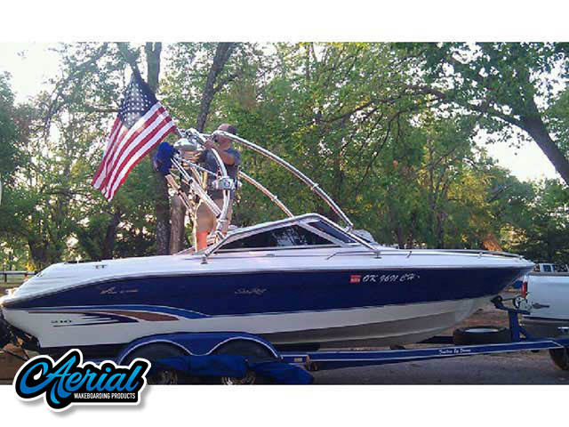Wakeboard tower for 1996 Searay 210 Signature Series with Airborne Tower