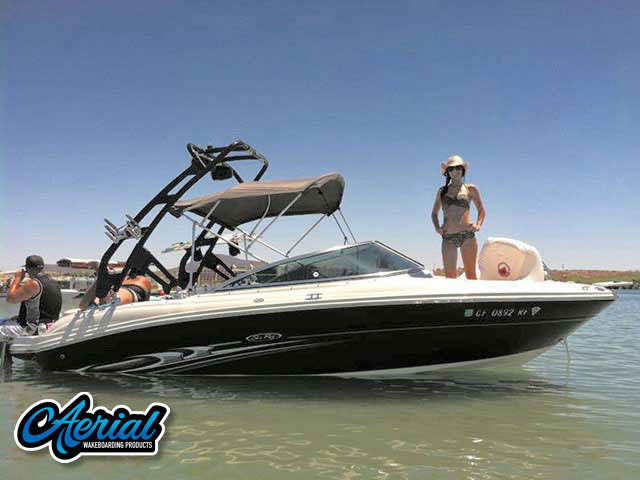 Aerial FreeRide Tower on a 2005 SeaRay select 200 boat
