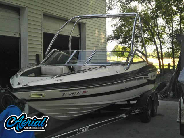 1996 Mariah Z201 Talari Wakeboard Tower, speakers, racks, bimini