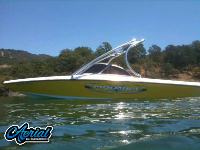 Wakeboard tower for 2005 Moomba Outback boats by Aerial Wakeboard Tower Products