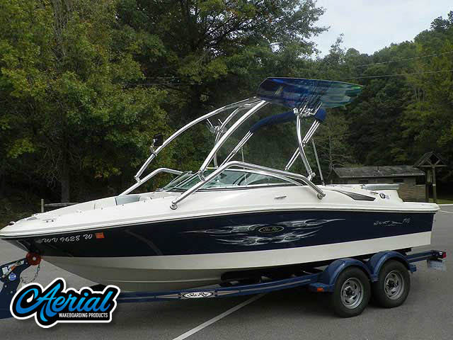 Wakeboard tower for 2008 Sea Ray 195 Sport with Airborne Tower