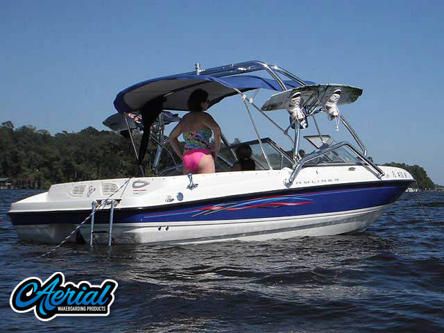 2006 Bayliner 195 BR Wakeboard Tower, speakers, racks, bimini