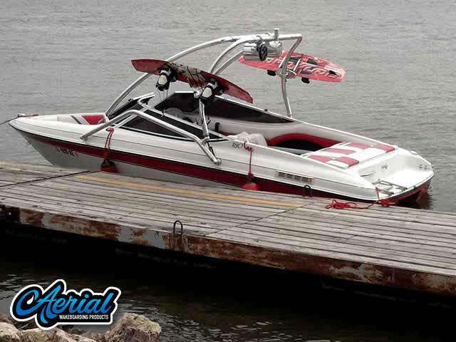 Wakeboard tower for 1994 Rinker 180 with Airborne Tower