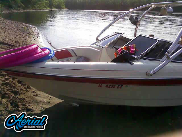 1994 Rinker 180 Wakeboard Tower, speakers, racks, bimini