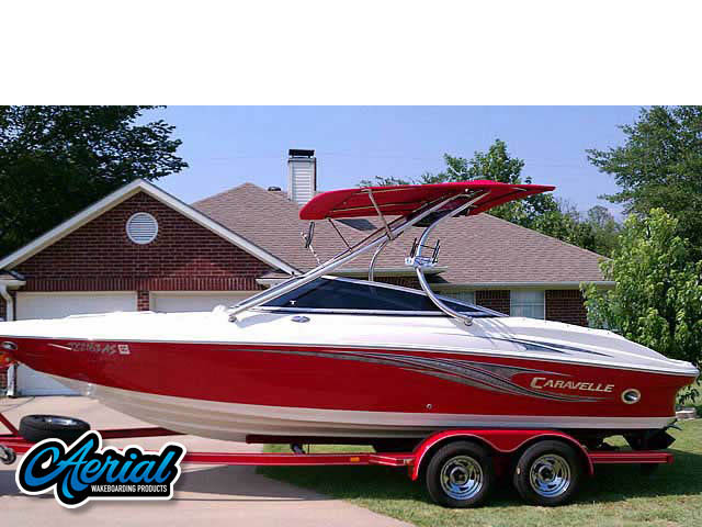 Wakeboard tower for 2008 Caravelle 237 LS boats by Aerial Wakeboard Tower Products