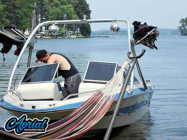 1989 Searay Wakeboard Tower, speakers, racks, bimini