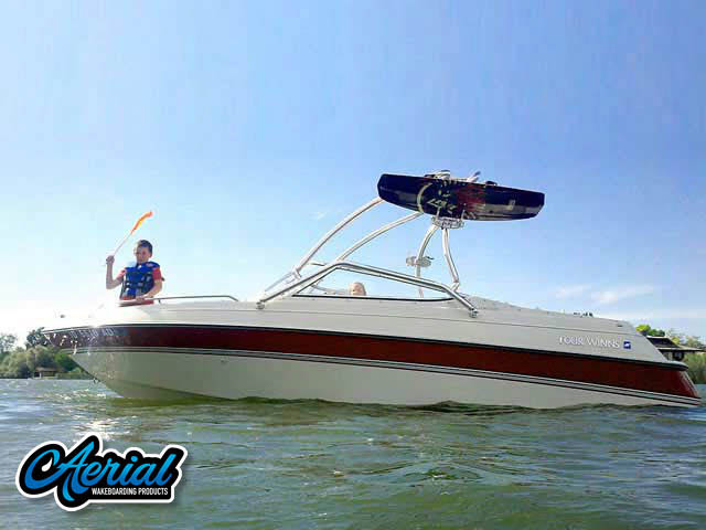 Wakeboard tower for 1995 Four Winns Horizon 200 with Airborne Tower