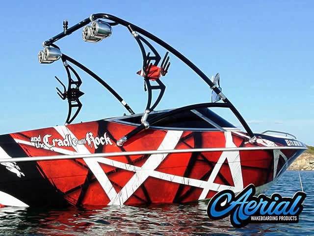 Wakeboard tower for 1995 Sunbird with Assault Tower