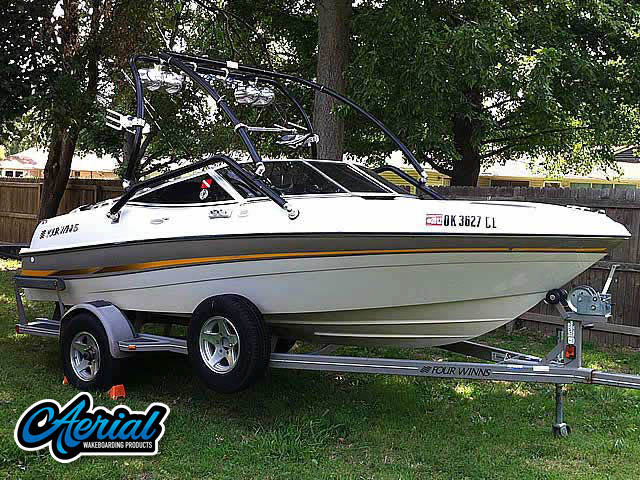 Wakeboard tower for 2002 Four Winns Horizon 180 5.0 GL Volvo Penta with Airborne Tower