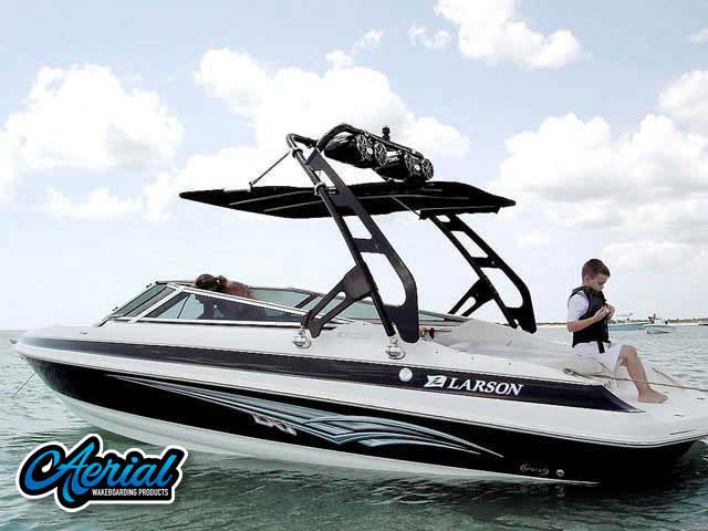Wakeboard tower for 2007 Larson 228 LXI boats by Aerial Wakeboard Tower Products
