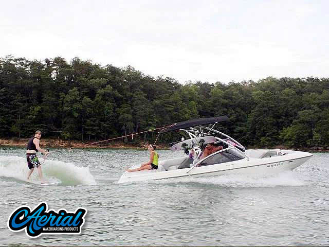 Wakeboard tower for 2000 Tige 21V with Assault Tower with Eclipse Bimini