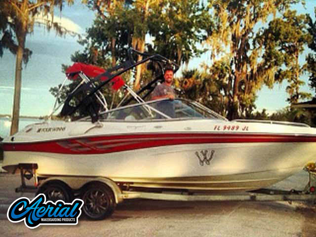 2000 Four Winns 210 horizon Wakeboard Tower, speakers, racks, bimini