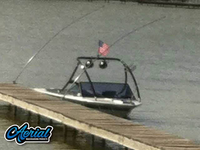 Ascent Tower Wakeboard Installed on 1986 Mastercraft ProStar 190 Boat