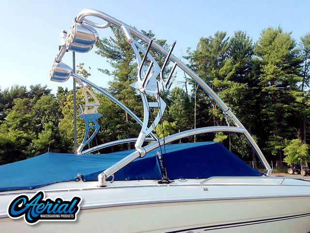 1998 Sea Ray 230 BR Wakeboard Tower, speakers, racks, bimini