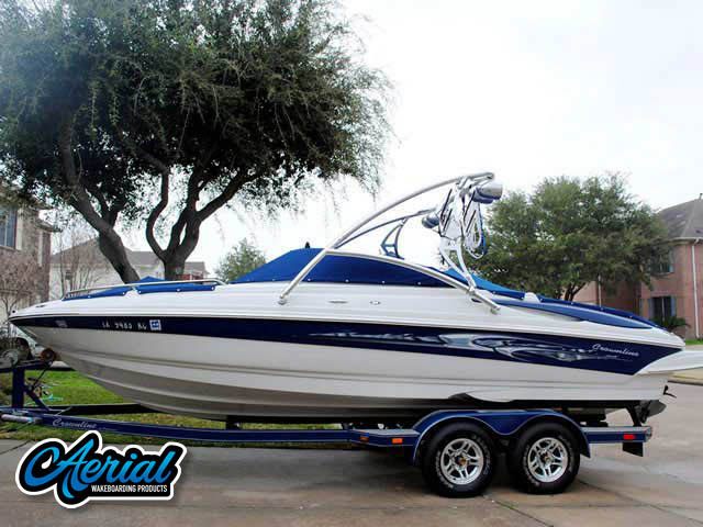 Wakeboard tower for 2005 Crownline 225 GLS with Assault Tower