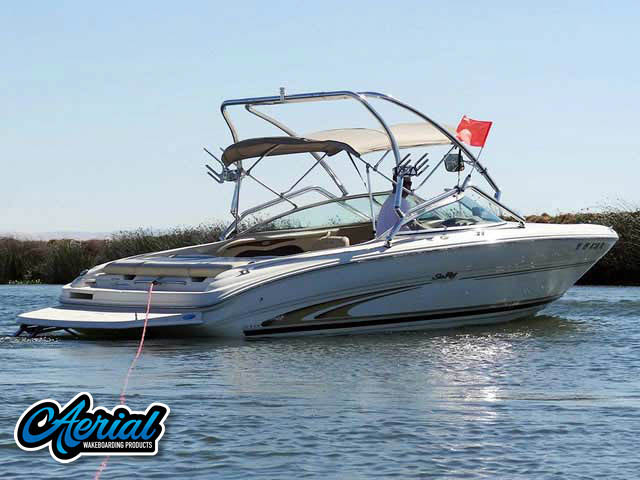 Wakeboard tower for 2001 SeaRay Bowrider with Airborne Tower