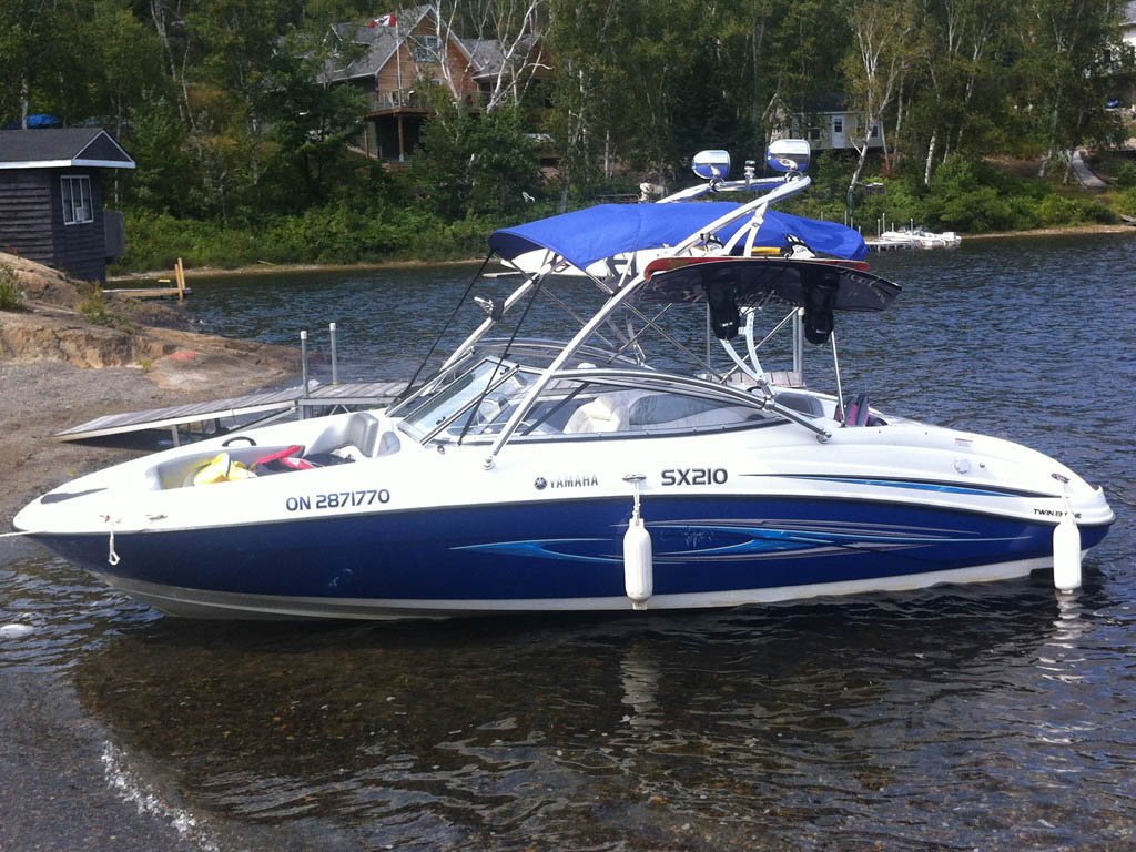 Wakeboard tower for 2008 Yamaha SX210 with Assault Tower