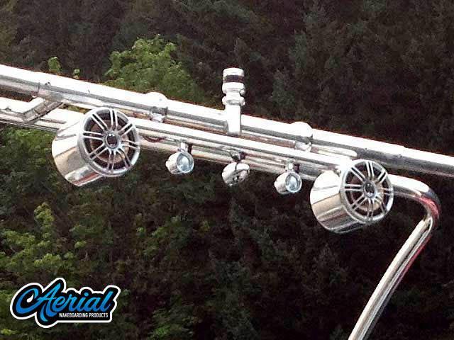 1993 Crownline 19.5' wakeboard tower, speakers, racks, bimini & lights