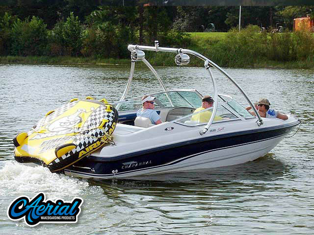 Wakeboard tower for 1995 Chaparral 1930 SS with Ascent Tower
