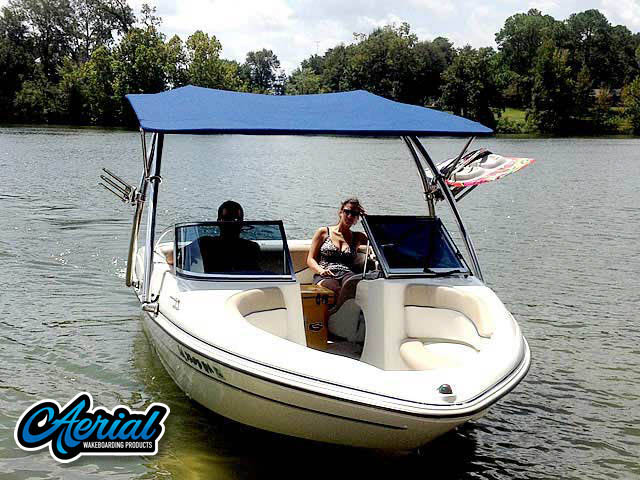 Wakeboard tower for 05 Glastron MX 175 boats by Aerial Wakeboard Tower Products