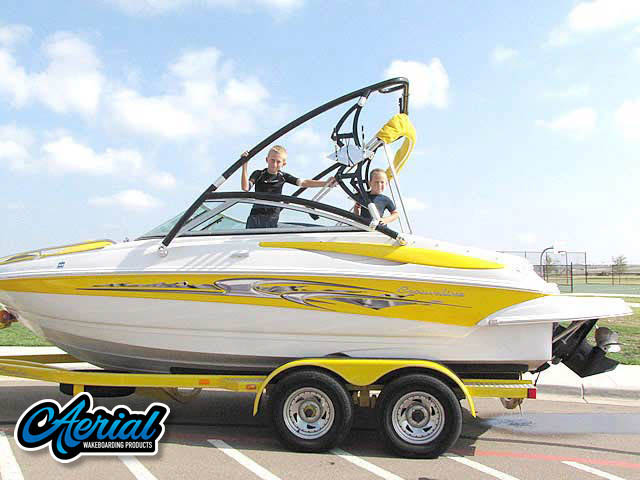 Wakeboard tower for 2008 Crownline 200 LS with Assault Tower