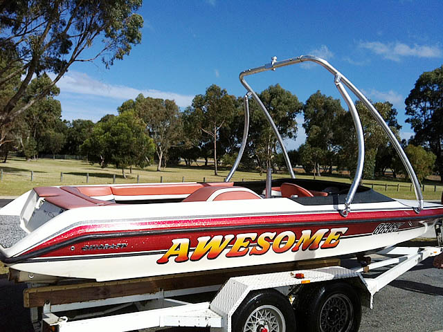 Wakeboard tower for 1998 Ski Craft 2000 with Ascent Tower