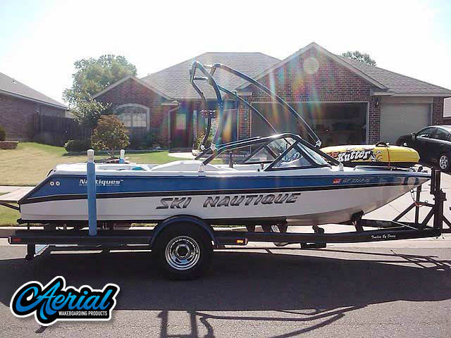 Wakeboard tower for 1994 Correct Craft Ski Nautique with Airborne Tower