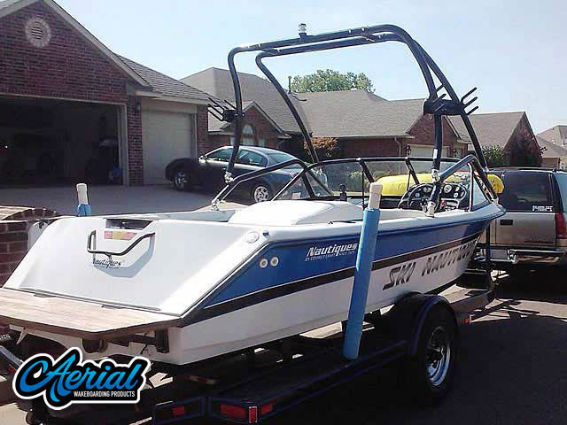 1994 Correct Craft Ski Nautique Wakeboard Tower, speakers, racks, bimini