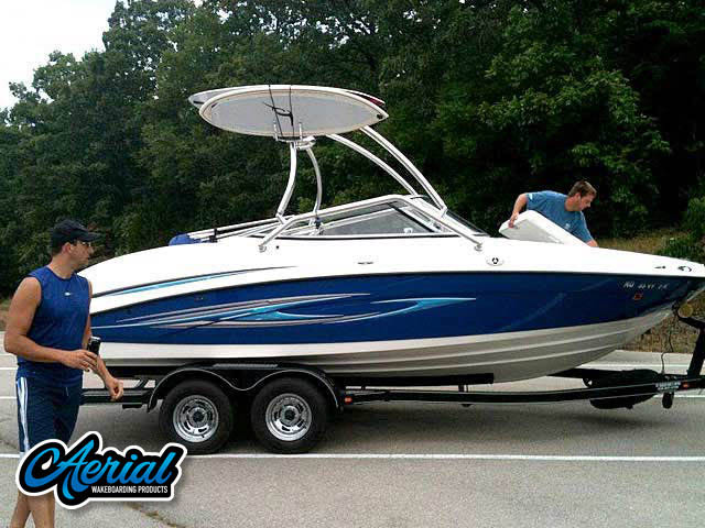 Wakeboard tower for 2008 Yamaha SX210 with Airborne Tower