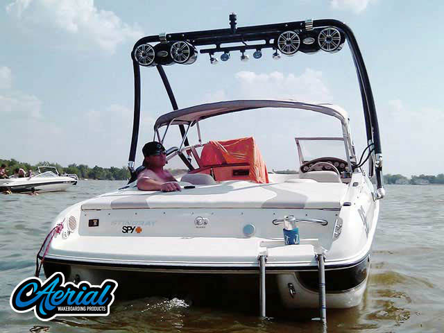 Stingray 2007 185lx Wakeboard Tower, speakers, racks, bimini