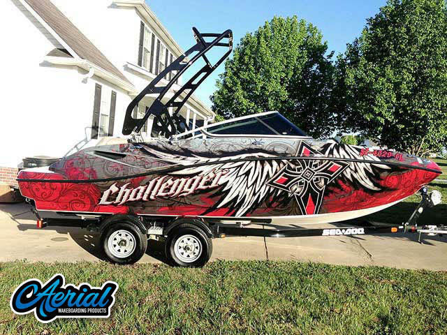 2010 SEA DOO 210 CHALLENGER Wakeboard Tower, speakers, racks, bimini