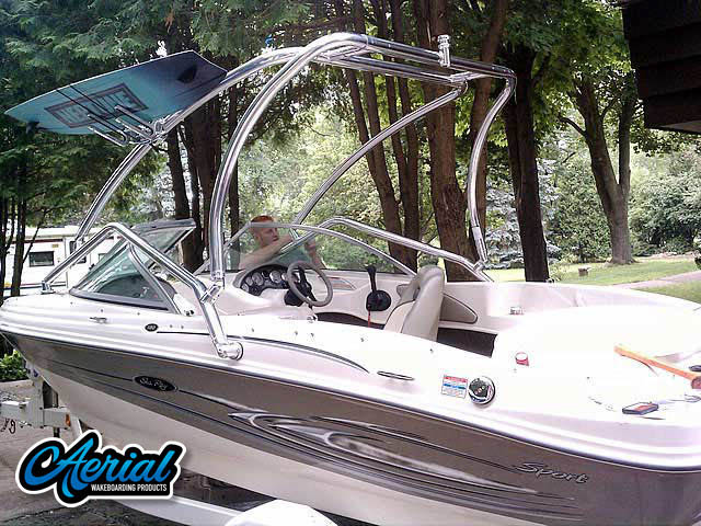 Wakeboard tower for 2005 Sea Ray 180  with Airborne Tower