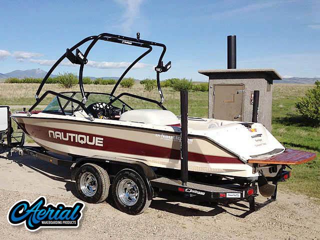 1997 Sport Nautique Wakeboard Tower, speakers, racks, bimini