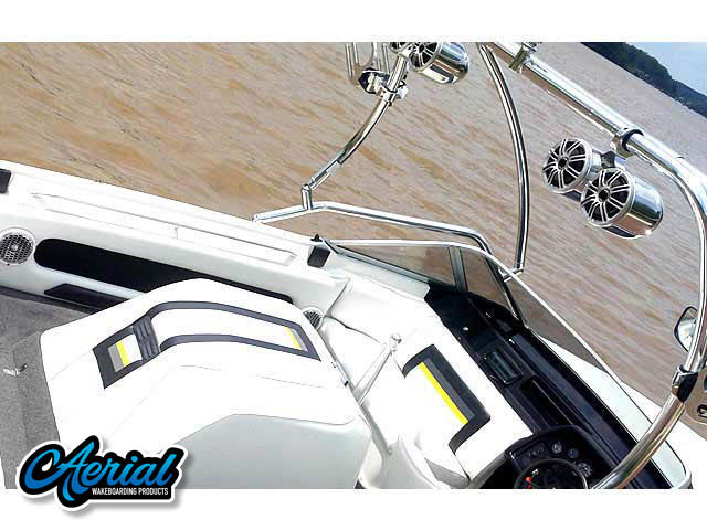 Airborne Tower Wakeboard Installed on 1989 Mastercraft TriStar 190 Boat