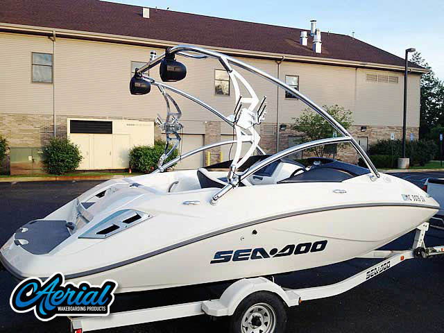 Wakeboard tower for 2006 Seadoo Challenger 180 SC with Assault Tower