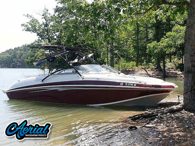 2007 Tahoe 265 wakeboard tower, speakers, racks, bimini & lights