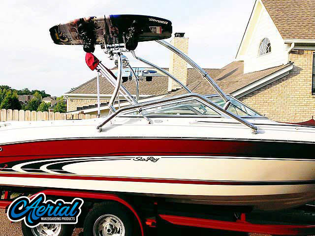 Wakeboard tower for 1998 Sea Ray  210BR with Airborne Tower
