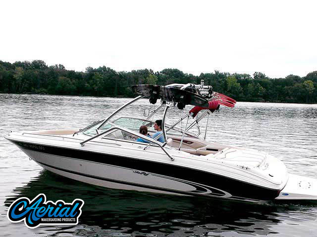1998 Sea Ray  210BR Wakeboard Tower, speakers, racks, bimini
