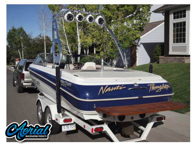 2001 MasterCraft Wakeboard Tower, speakers, racks, bimini