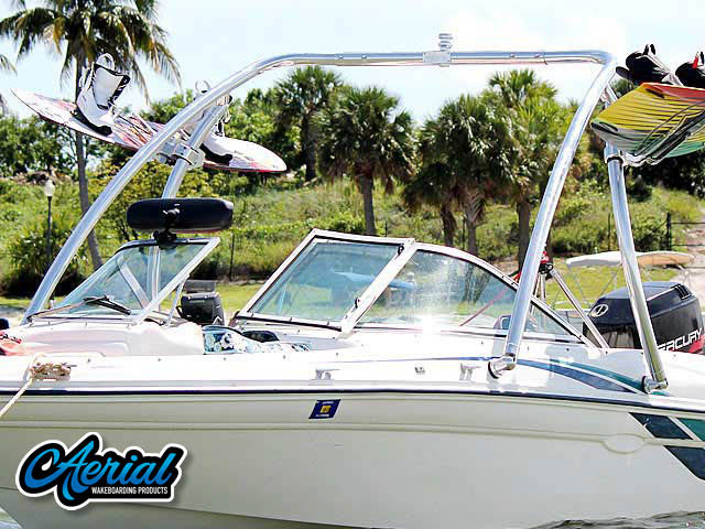 1998 Sea Ray 180 Bow Rider Wakeboard Tower, speakers, racks, bimini