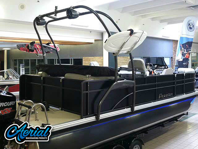 Wakeboard tower for 2014 Premier 220 Sunsation  with F250 Pontoon Tower