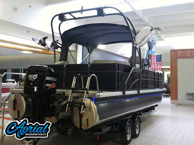2014 Premier 220 Sunsation  Wakeboard Tower, speakers, racks, bimini