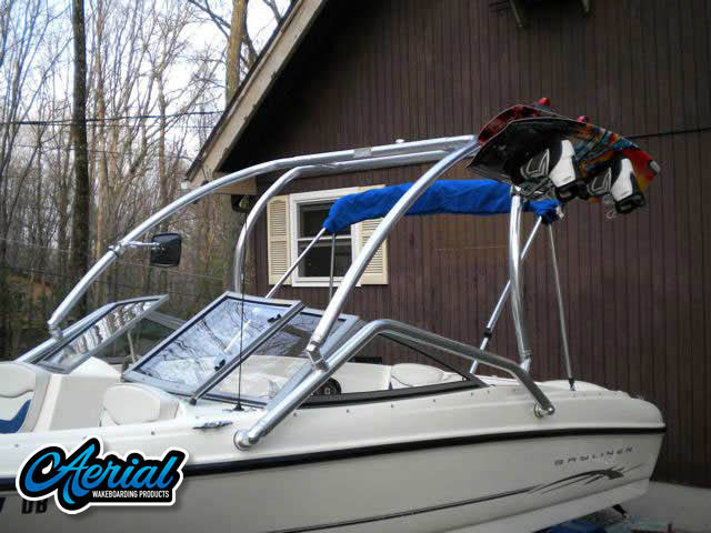 2004 Bayliner 175 Bowrider Wakeboard Tower, speakers, racks, bimini