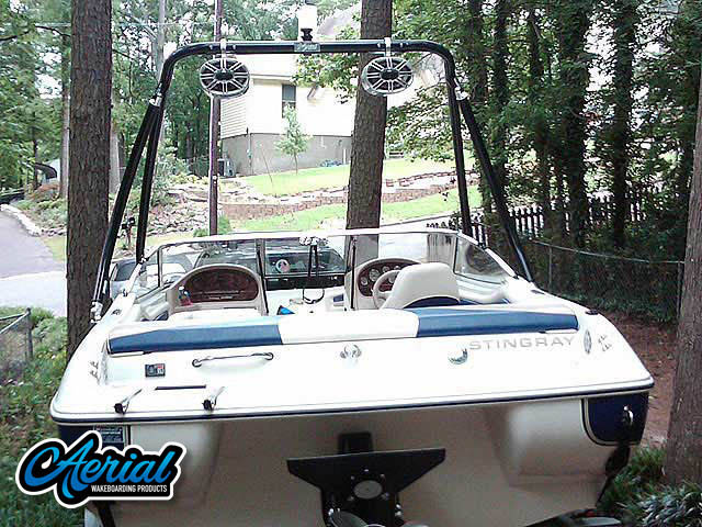 2001 Stingray 190RS Wakeboard Tower, speakers, racks, bimini