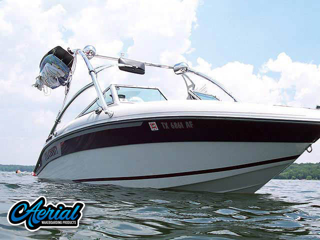1989 Celebrity 190vbr Wakeboard Tower, speakers, racks, bimini